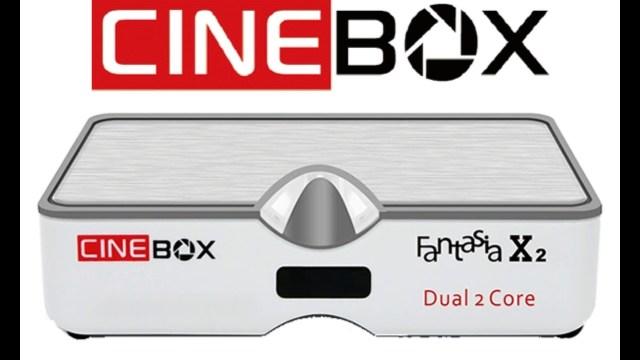Atualização Cinebox Fantasia X2 HD IKS, SKS e IPTV Liberada