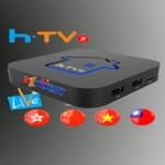 Atualização HTV Box 5 Android Receptor com H265
