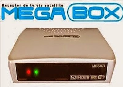 Atualização Megabox MG5 HD V7.50 SKS funcionando