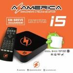 Atualização Azamerica I5 IPTV 4K Android V1.31 Vod Ativo