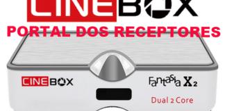 Atualização Cinebox Fantasia X2 HD Corrigido Bugs