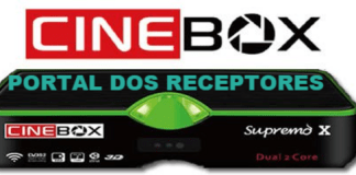 Atualização Cinebox Supremo X HD Funcionando
