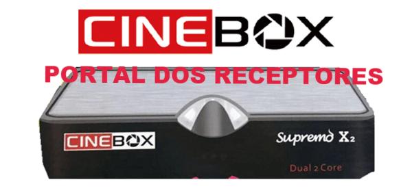 Atualização Cinebox Supremo X2 HD com mais Estabilidade