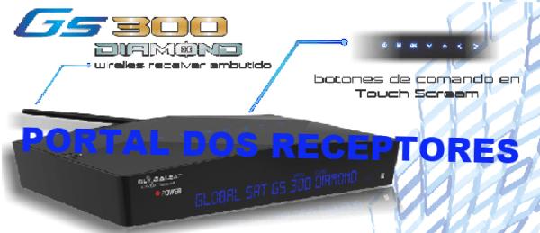 Baixe aqui sua Atualização Globalsat GS300 Diamond HD
