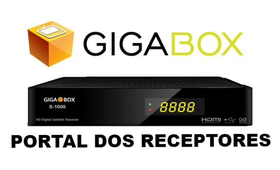 Atualização Gigabox S1000 HD Corrigido