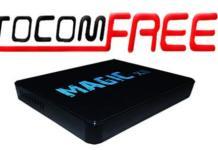 Atualização Tocomfree Magic XII HD Estabilizado