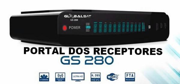Liberada nova Atualização Globalsat GS280