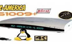 Atualização Azamerica S1009+ HD