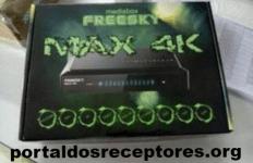 Nova Atualização Freesky Max 4K