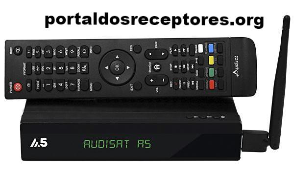 Baixar nova Atualização Audisat A5 Plus