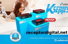 Nova Linha Audisat Aventador Kseries Resolução 1080P