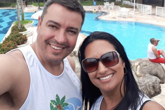 Pastor Emerson Santos e sua esposa, Cristiane Pacene.