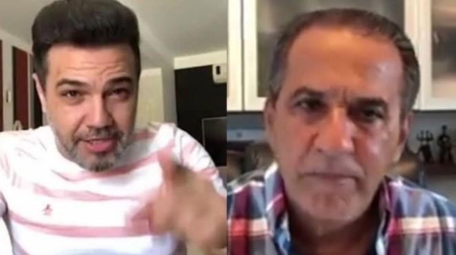 """Pastor Marco Feliciano fala em """"perseguição religiosa"""" contra Silas Malafaia."""