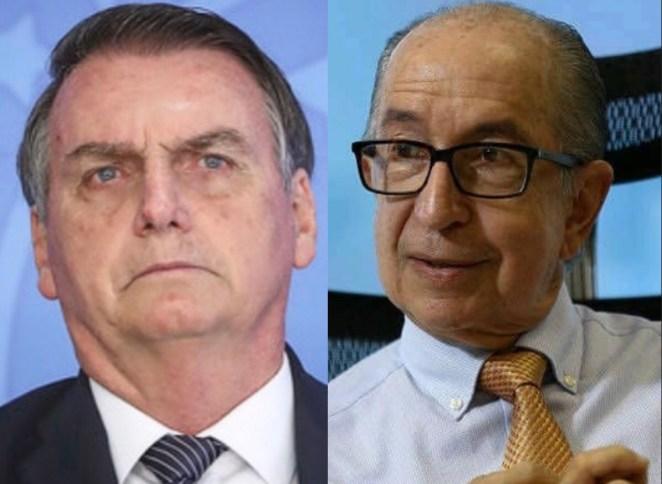 Jair Bolsonaro e Marcos Cintra, secretário nacional da Previdência.