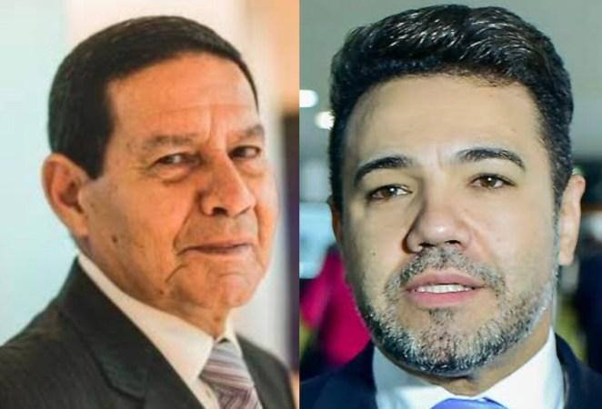 Marco Feliciano ameaça vice-presidente Mourão com impeachment.