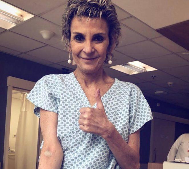 Cantora gospel Ludmila Ferber luta contra câncer há mais de 1 ano.