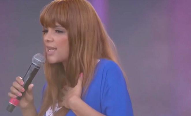 Cantora gospel Flordelis.