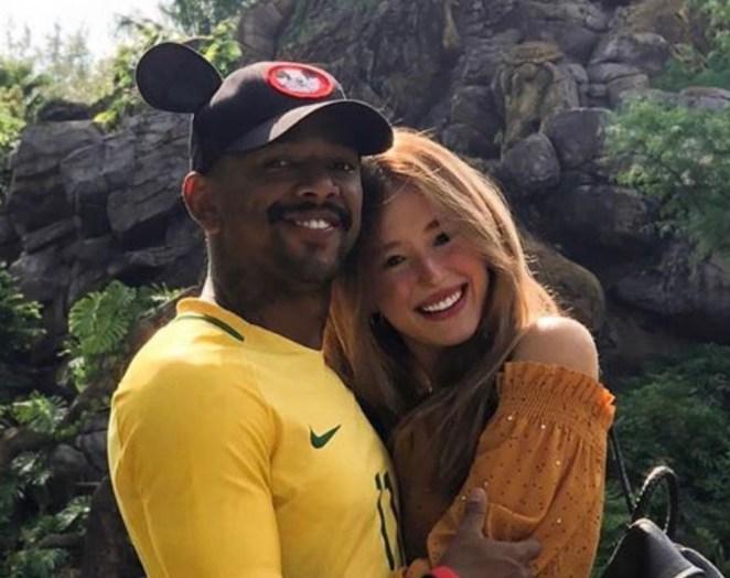 Duda Reis namora o cantor Nego do Borel.