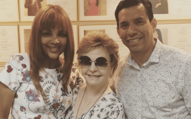 Cantora gospel Flordelis, Yvelise de Oliveira e o pastor assassinado Anderson do Carmo.