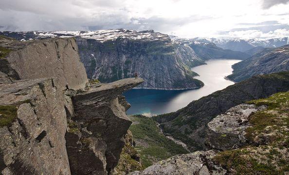 Trolltunga precipizio Norvegia