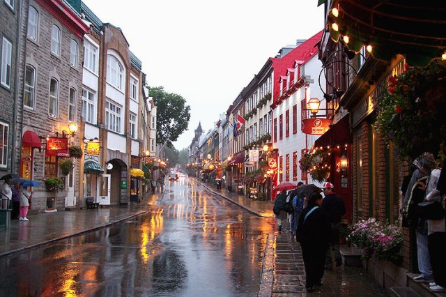 le strade di Quebec City