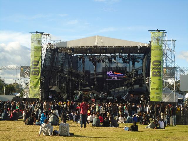 rock al parque Bogotà