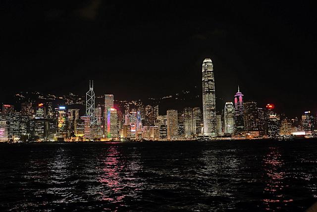 la notte di Hong Kong