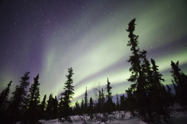 Dove vedere l'aurora boreale in Svezia