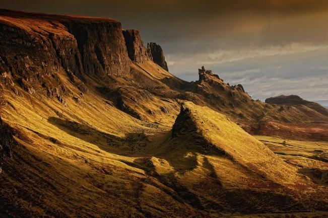 viaggio in treno in Scozia