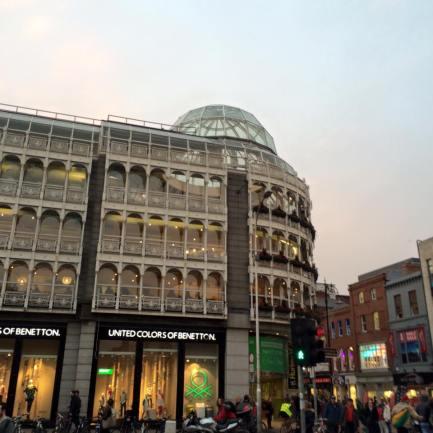 Vie shopping Dublino