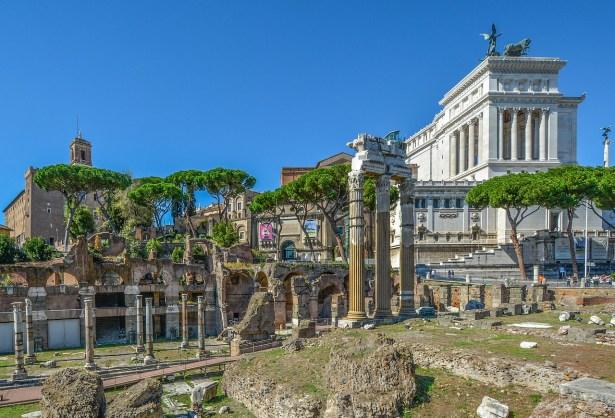 Visitare Rome a il colle Palatino
