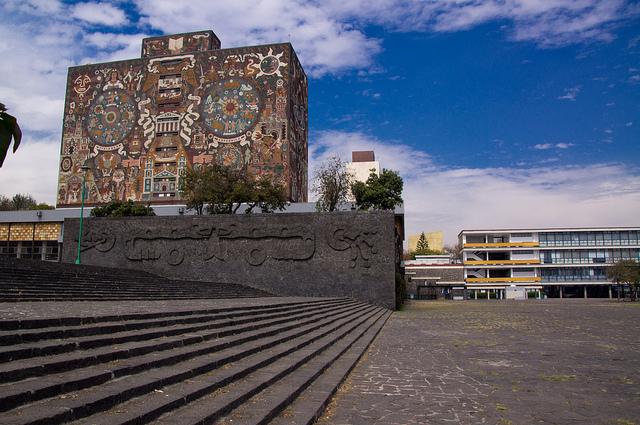 Biblioteca UNAM Città del Messico