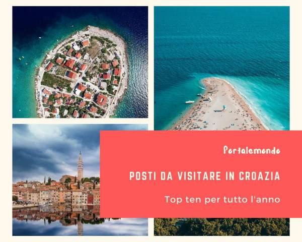 10 Posti da visitare in Croazia tutto l'anno