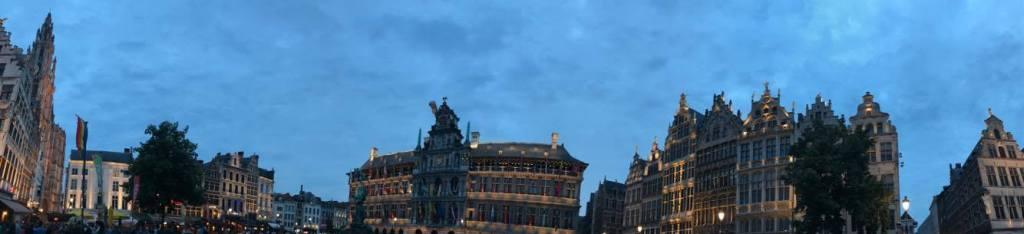 panoramica di Anversa