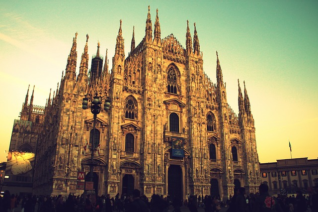 Milano città elegante