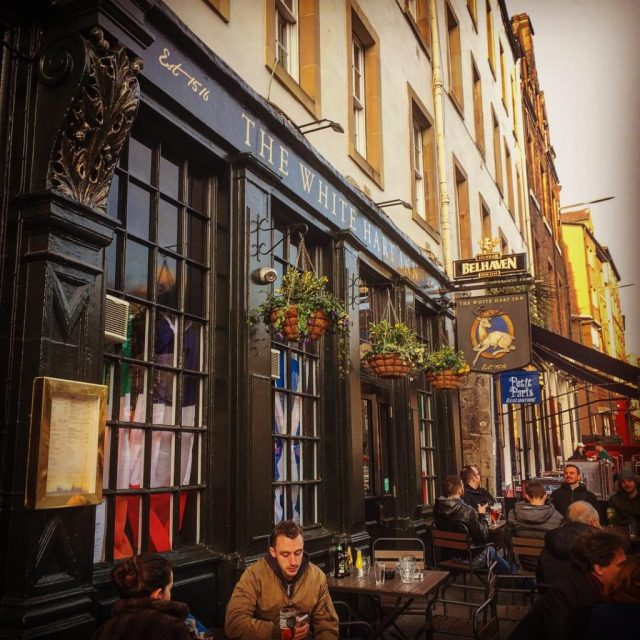 dove prendere una birra Edimburgo