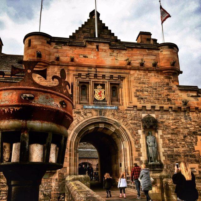 visitare il castello di Edimburgo