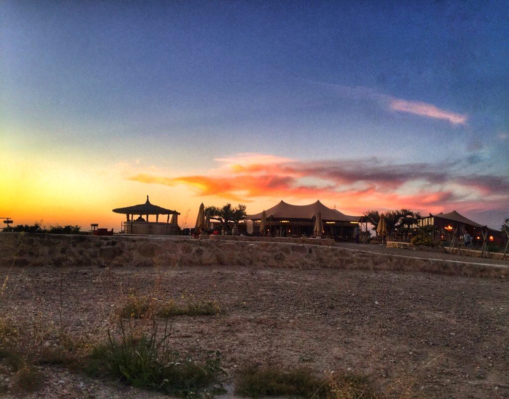 tramonti nel deserto in Marocco
