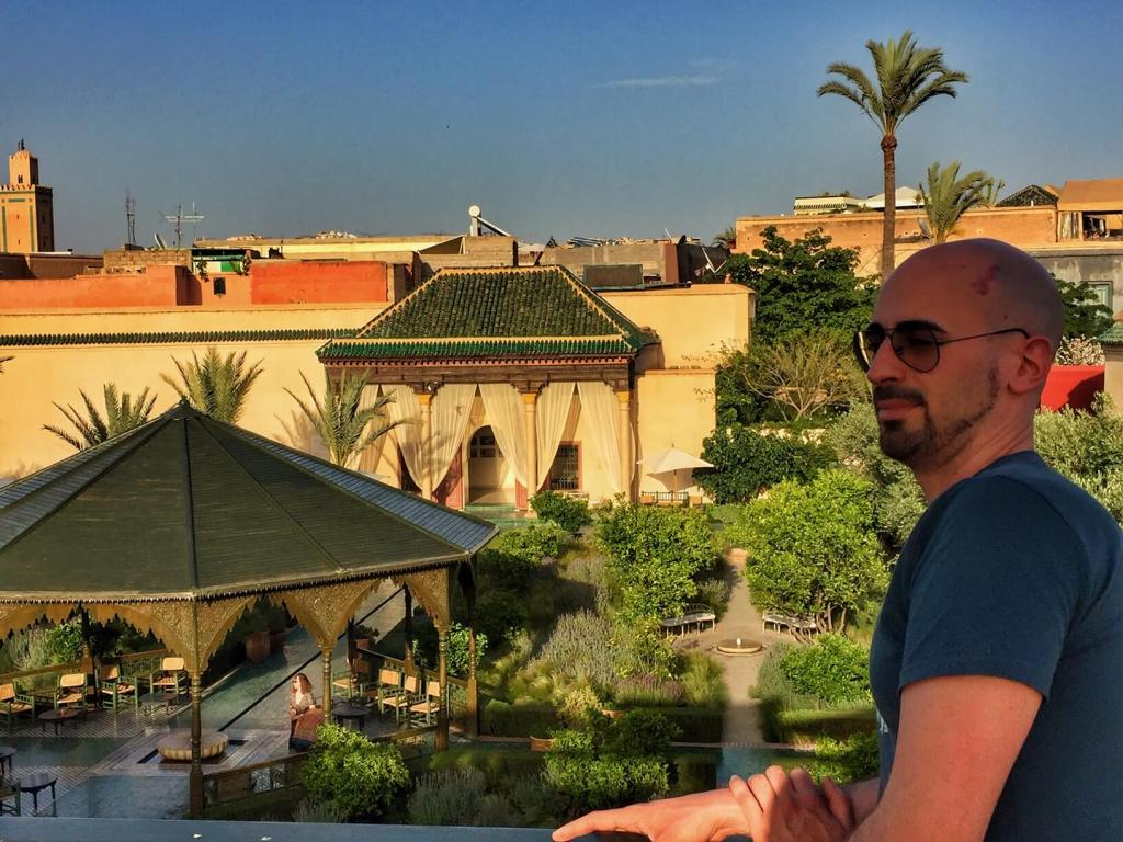 dove prendere un té a Marrakech