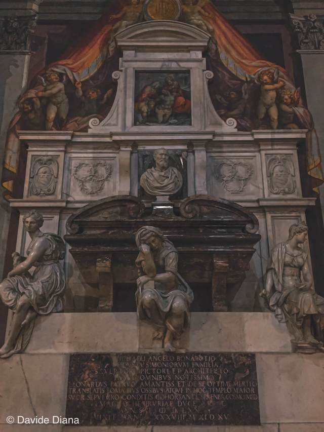 Basilica santa croce tomba Michelangelo