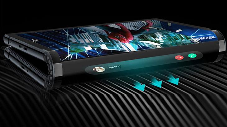 Smartphone con schermo pieghevole, novità all'orizzonte