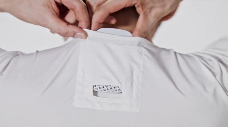 Reon Pocket, Sony inventa la maglietta con l'aria condizionata,