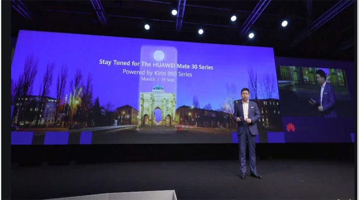 Huawei Mate 30 pro, il 19 settembre debutto a Monaco