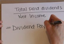 rumus dividend payout ratio