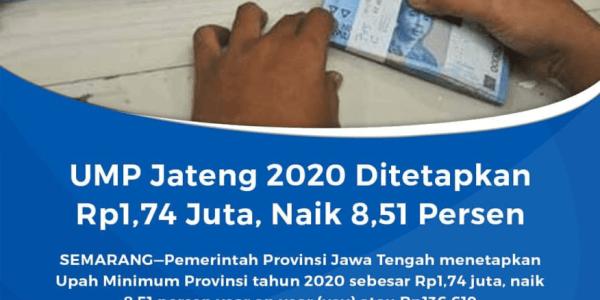 upah minimum jawa tengah 2020