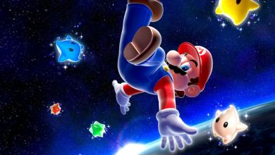 Photo of Wallpaper Super Mario Galaxy