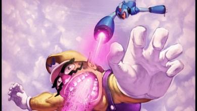 Photo of Mega Man versus Wario (Fanart)