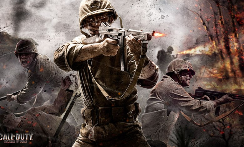 Call of Duty World at War espiando