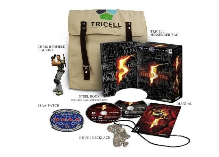Resident Evil 5 edição colecionador
