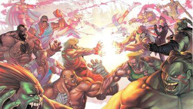 Photo of Veja a arte de dentro da caixa de Street Fighter IV